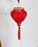 ベトナムランタン・ホイアンランタン・イベント・お祭り・インテリアランプシェード・ホイアンシルク製ミニ提灯(気球型)C