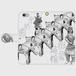 iphone6/6s 今城塚 形象埴輪(灰)スマホケース