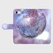 (iPhone8/7 サイズ)手帳タイプ:桜の宇宙(KAGAYA)