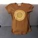 【海外土産】ビーズTシャツ6茶(タイ)◆送料無料