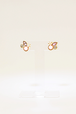 anthropologie small pearl bijou earrings