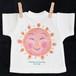 手のひらTシャツ 太陽