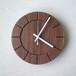 木の時計01(Φ240) No36 | ウォールナット
