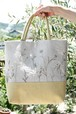 【木の花】刺繍バッグ