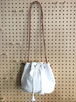 MARTAU. SHOULDER DITTY BAG Vintage White