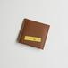 【テーププリント】ブルーバナナボタンカードケース/ブラウン