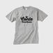 コントネコラジオTシャツ005-メンズグレー