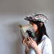 Re:19世紀の帽子 【linen hat】- Multicolor check -