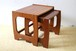 Vintage Nest Tables / 70年代 イギリス製 ビンテージ ネストテーブル 1