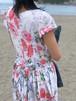 dress / flower white