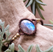 *Healing Blue* Labradorite Macrame Bracelet