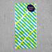リソグラフ 一筆箋[チョップスティック]Turquoise × Yellow