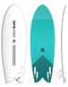Storm Blade 5ft8 Modean Retro Fish / White TURQUOISE GRAPHIC