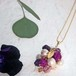 pendant necklace ◍grape 1