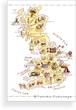 Post Card(英国&アイルランド伝統菓子map)