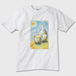 羊の酒器  Tシャツ 白