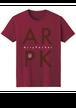 カルパカクラインTシャツ(バーガンディー)