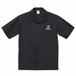 United Athle T/C オープンカラーシャツ(ブラック)