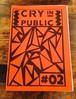CRY IN PUBLIC #2 / ZINE
