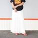 70〜80's  switch fabric skirt