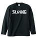 LOGO LONG SLEEVE(BLACK×WHITE)