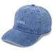 Denim Cap (波ロゴ刺繍)