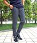 Wool Stretch Slacks Pants Gray