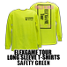 ELEXGAME TOUR LONG SLEEVE T-SHIRTS[SAFETY GREEN]