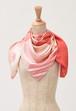 LOEWE グラフィカル プリント シルク スカーフ