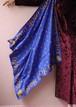 Christian Dior blue scarf