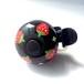 かわいい☆おしゃれな自転車ベル SFB01 いちごの黒
