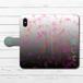#024-012 iPhoneケース スマホケース 手帳型 全機種対応 病みかわいい メンヘラ エクスペリア iPhoneXS/X Xperia iPhone5/6/6s/7/8 ケース 病み ホラー Galaxy ARROWS AQUOS HUAWEI Zenfone タイトル:あいころ 作:チノリ