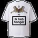 vibeca ボックスシルエットポケットTシャツ white