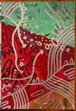 美/上毛町で制作の作品「ゾウリムシ第一世代#34」を送ります!
