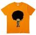 【買って応援A】源田イラストTシャツ オレンジ