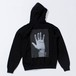DUST EGO BIG HAND BLACK HOODIE
