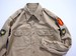"1950's [U.S.ARMY] コットンカーキシャツ ""チノシャツ"" マチ付き 表記(15 1/2 - 32) アメリカ軍 実物"