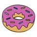 "Real Sic""Donut Emoji – Enamel Pin for your Life"""