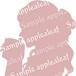 シルエット(紅茶タイム)ピンク印刷用