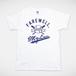 F,M.L BASEBALL Tシャツ ホワイト