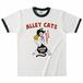 ALLEY CATS リンガーTシャツ グリーン