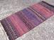 ヴィンテージ キリム 65cm×146cm 手織り ラグ カーペット