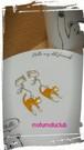 茶トラにゃんことハートビーズイヤリング
