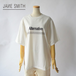JANE SMITH/ジェーンスミス・Alternative SS tee