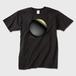 宇宙の中心で。 おしゃれ黒Tシャツ ※トナー熱転写