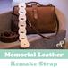 folklore【Memorial Leather Ver.】大切な革製品をギターストラップへ加工