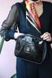 CELINE black square shoulder bag
