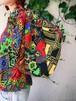 Diane freis multi color geometric tops ( ダイアン フレイス  マルチカラー ジオメトリック トップス