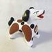 ディムコヴォ村の犬(茶ぶち)(ロシア民芸品)