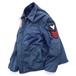1980's [U.S.NAVY] ユーティリティジャケット 星条旗ワッペン ステンシル 実寸(40程度) ヴィンテージ アメリカ海軍